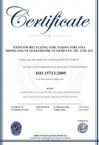 EXITCOM ISO 15713-1