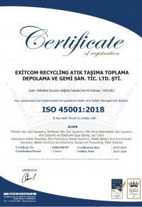 EXITCOM ISO 45001-1