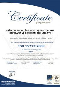 EXITCOM-ISO-15713-2009-200x291 Belge ve Sertifikalar